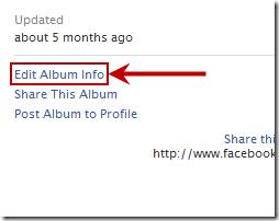 Hide Facebook Album 1