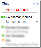 Aol Gtalk Integration